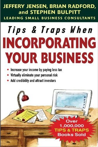 Tips & Traps When Incorporating Your Business   2006 9780071457866 Front Cover