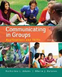 Communicating in Groups Applications and Skills 9th 2015 edition cover