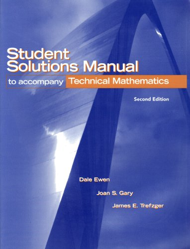 Technical Mathematics  2nd 2005 edition cover