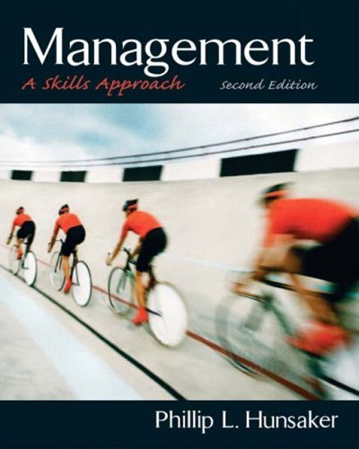 Management A Skills Approach 2nd 2005 (Revised) 9780131441866 Front Cover
