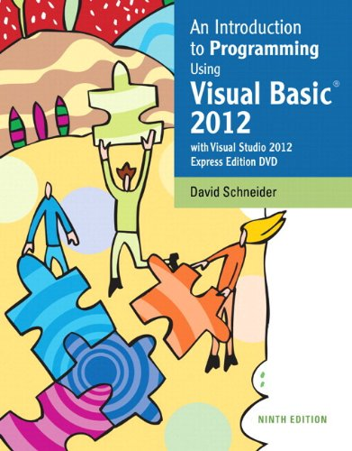 Introduction to Programming Using Visual Basic 2012  9th 2014 edition cover