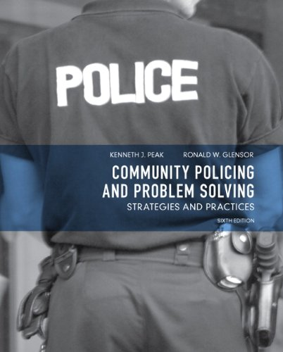 Community Policing and Problem Solving Strategies and Practices 6th 2012 (Revised) edition cover