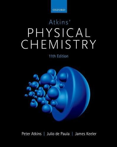 Atkins' Physical Chemistry:   2018 9780198769866 Front Cover