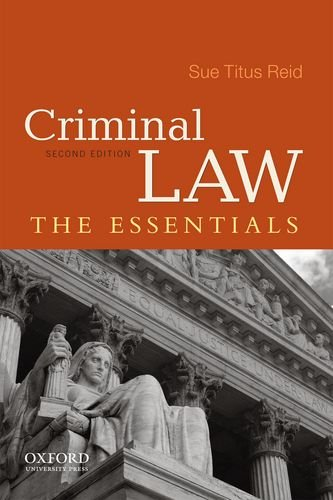 Criminal Law The Essentials 2nd 2012 edition cover