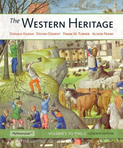 Western Heritage, the, Volume 1  11th 2013 edition cover