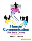 Human Communication The Basic Course 13th 2015 edition cover