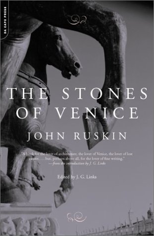 Stones of Venice  2nd 2003 edition cover