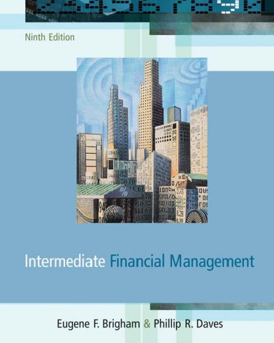 Intermediate Financial Management  9th 2007 (Revised) edition cover