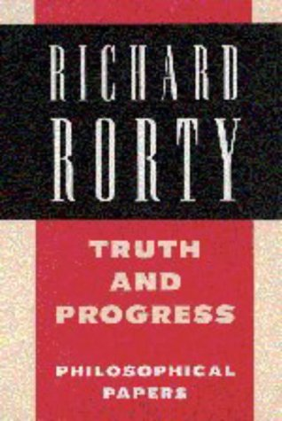 Truth and Progress Philosophical Papers  1998 9780521556866 Front Cover