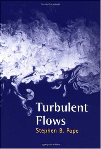 Turbulent Flows   2000 edition cover