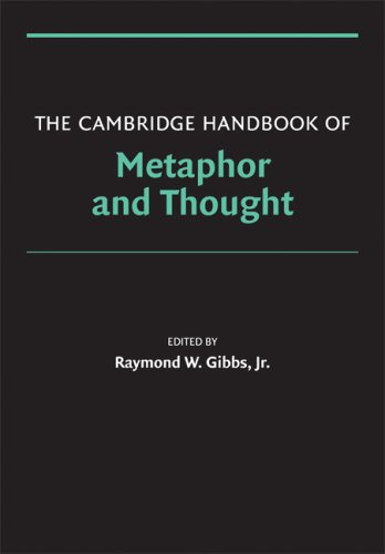 Cambridge Handbook of Metaphor and Thought   2008 9780521600866 Front Cover
