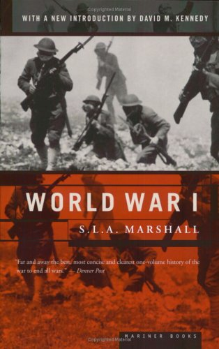 World War I   2001 (Reprint) edition cover