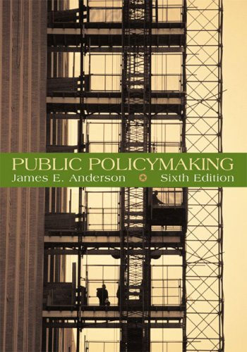 Public Policymaking  6th 2006 edition cover