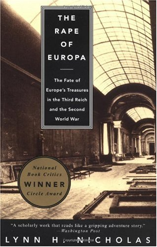 Rape of Europa The Fate of Europe's Treasures in the Third Reich and the Second World War  1995 edition cover