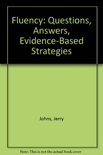 Fluency Strategies and Assessments 2nd 2005 (Revised) 9780757515866 Front Cover