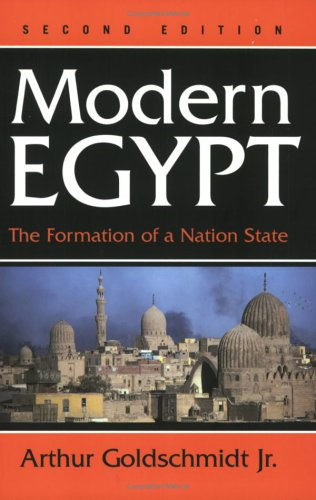 Modern Egypt The Formation of a Nation-State 2nd 2002 (Revised) edition cover