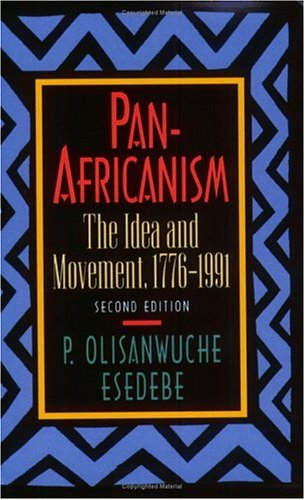 Pan-Africanism The Idea and Movement, 1776-1991 2nd 1994 edition cover