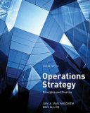 OPERATIONS STRATEGY                     N/A edition cover