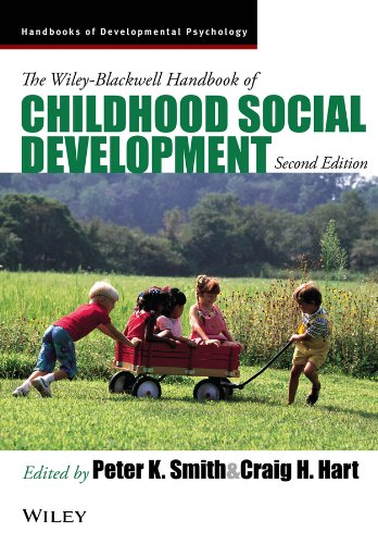 Wiley-Blackwell Handbook of Childhood Social Development  2nd 2011 edition cover