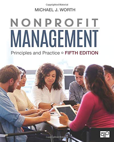 Nonprofit Management Principles and Practice 5th 2019 9781506396866 Front Cover
