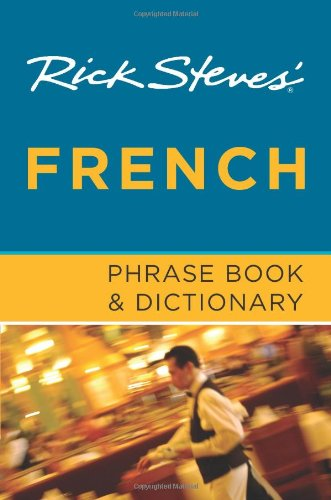 Rick Steves' French Phrase Book and Dictionary  6th edition cover