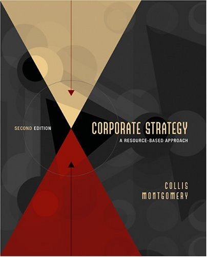Corporate Strategy A Resource-Based Approach 2nd 2005 (Revised) edition cover