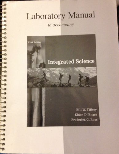 Lab Manual to Accompany Integrated Science  5th 2011 edition cover