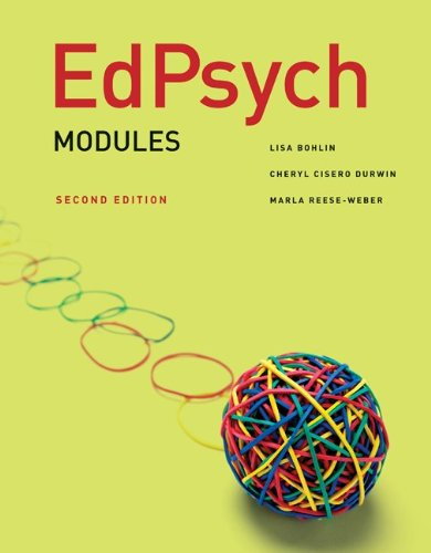 EdPsych Modules  2nd 2012 edition cover