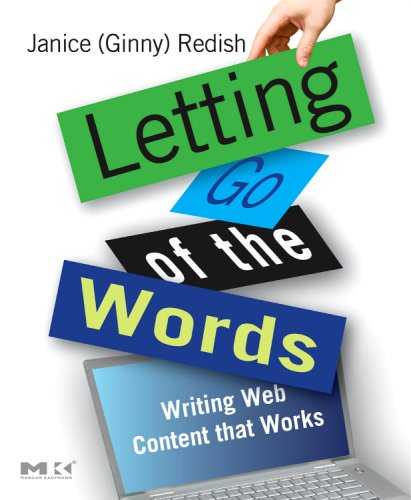 Letting Go of the Words Writing Web Content That Works  2007 edition cover
