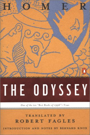 Odyssey (Penguin Classics Deluxe Edition)  1996 9780140268867 Front Cover