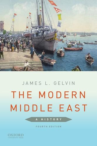 The Modern Middle East: A History  2015 edition cover