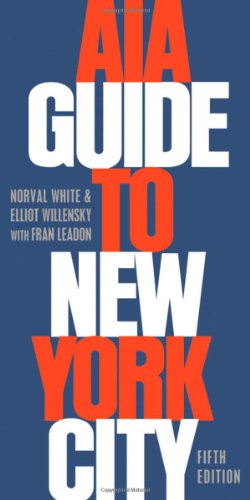 AIA Guide to New York City  5th 2010 edition cover