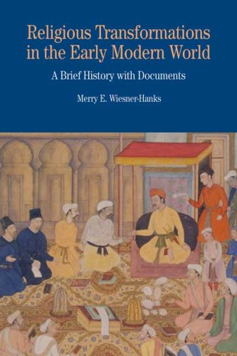 Religious Transformations in the Early Modern World A Brief History with Documents  2009 edition cover
