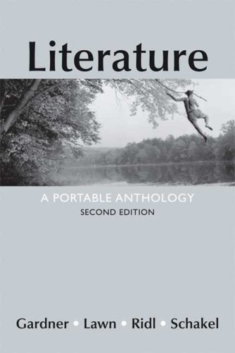 Literature A Portable Anthology 2nd edition cover