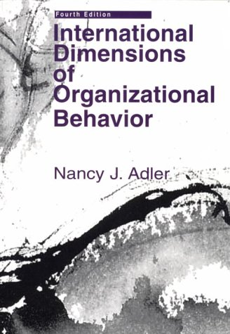 International Dimensions of Organizational Behavior  4th 2002 (Revised) edition cover