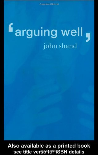 Arguing Well   2000 edition cover