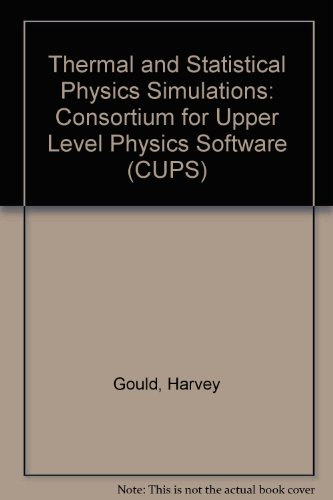 Thermal and Statistical Physics Simulations   1996 9780471548867 Front Cover