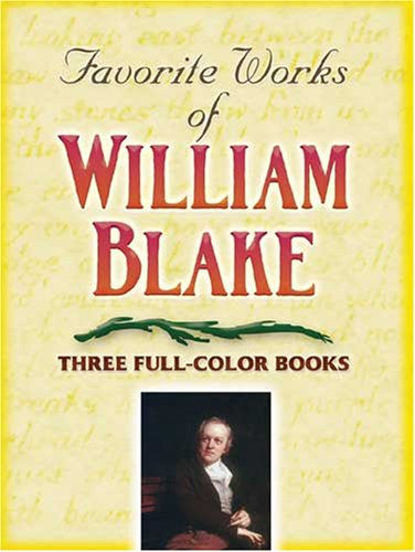 Favorite Works of William Blake  N/A edition cover