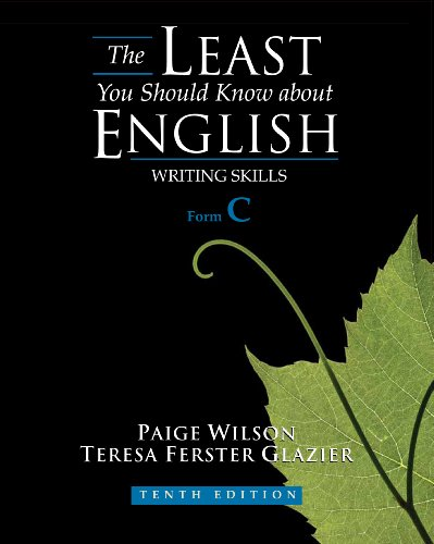 Least You Should Know about English Writing Skills 10th 2011 edition cover