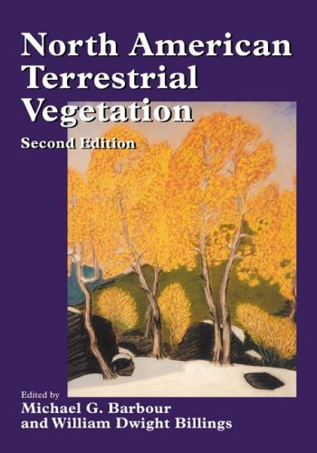North American Terrestrial Vegetation  2nd 1999 (Revised) 9780521559867 Front Cover