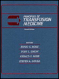 Principles of Transfusion Medicine  2nd 1996 (Revised) 9780683073867 Front Cover