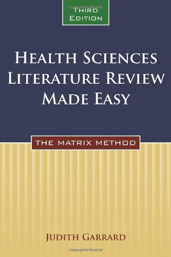 Health Sciences Literature Review Made Easy  3rd 2011 (Revised) edition cover