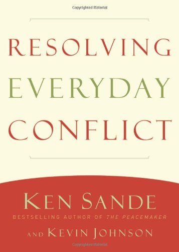 Resolving Everyday Conflict   2011 edition cover