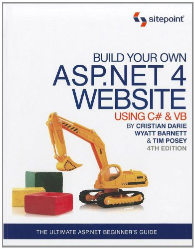 Build Your Own ASP .NET 4 Web Site Using C# and VB  4th edition cover
