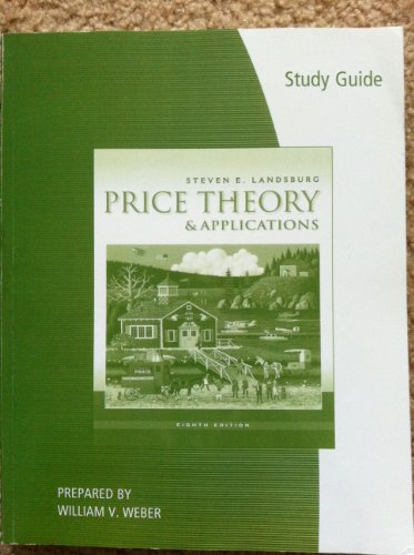 PRICE THEORY+APPLICATIONS-STD. N/A edition cover
