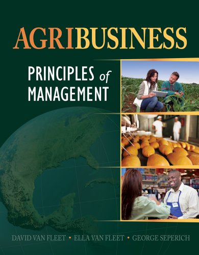 Agribusiness Principles of Management  2014 edition cover