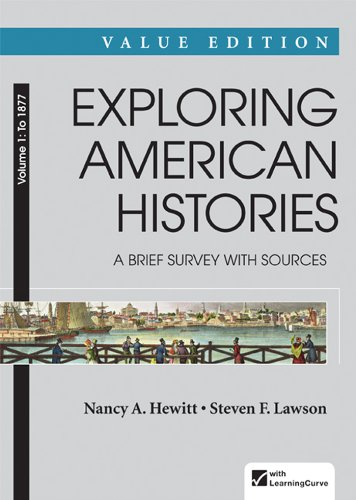 Exploring American Histories A Brief Survey - To 1877  2014 edition cover