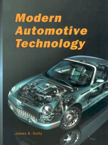 Modern Automotive Technology  6th 2003 edition cover