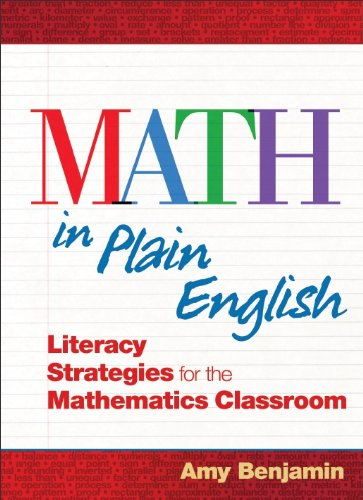 Math in Plain English Literacy Strategies for the Mathematics Classroom  2011 edition cover