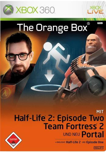 Half-Life 2: The Orange Box Xbox 360 artwork